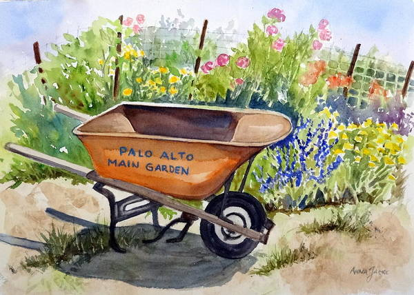 Painting - Ready At The Main Garden by Anna Jacke