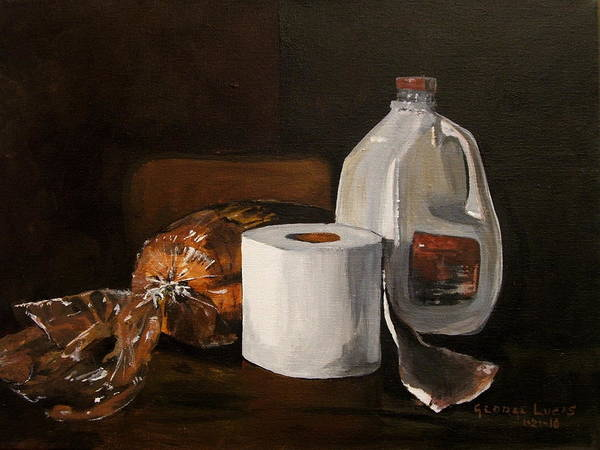 Milk Painting - Ready For The Snow by George Lucas