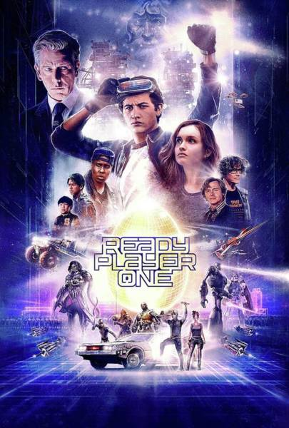 Wall Art - Digital Art - Ready Player One by Geek N Rock
