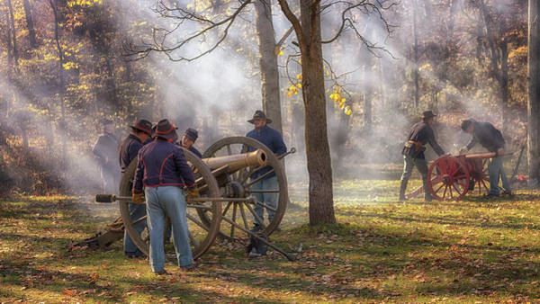 Photograph - Ready The Cannons by Susan Rissi Tregoning