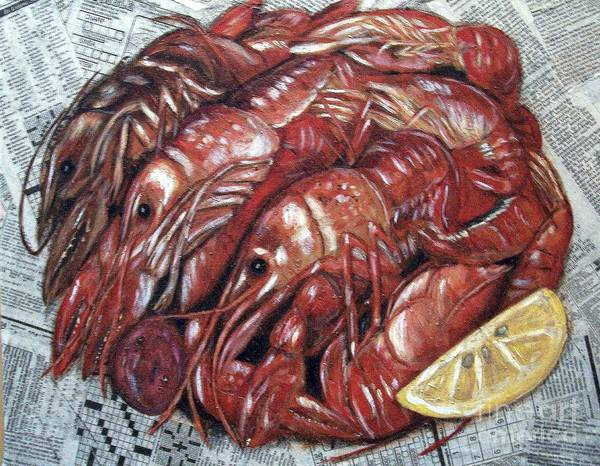 Wall Art - Painting - Ready To Eat by JoAnn Wheeler