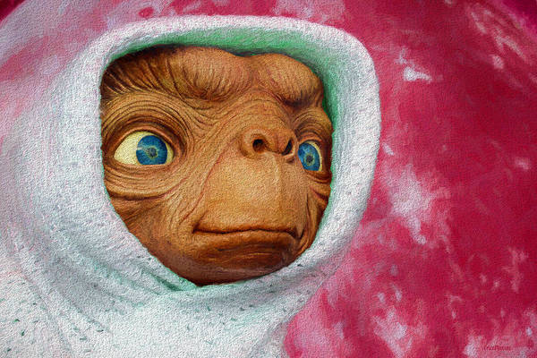 Painting - Ready To Phone Home by Ericamaxine Price
