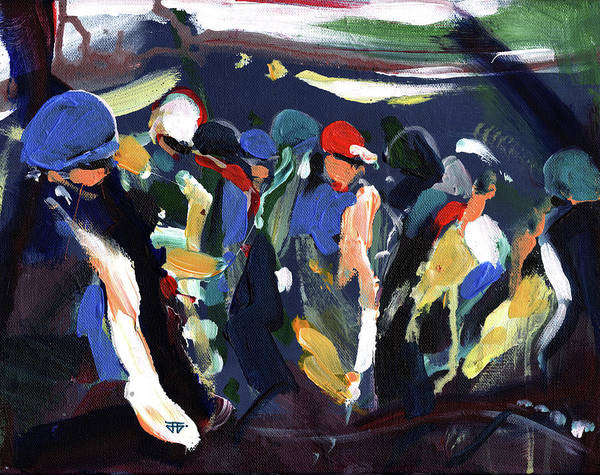Painting - Ready To Race by John Jr Gholson
