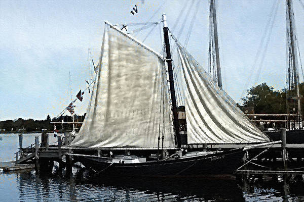 Painting - Ready To Sail by RC DeWinter