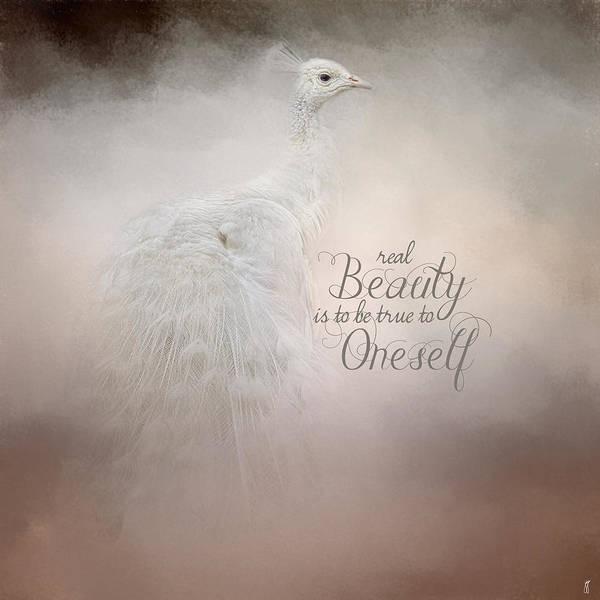 Photograph - Real Beauty - Peacock Art by Jai Johnson