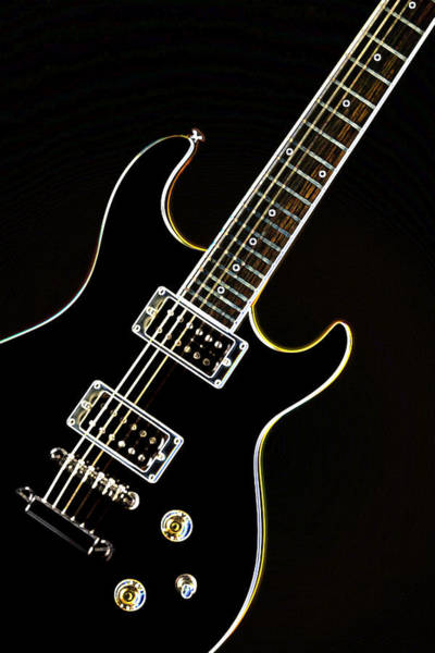 Real Electric Guitar Art Print