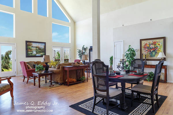 Photograph - Real Estate Living Room 2 by James Eddy