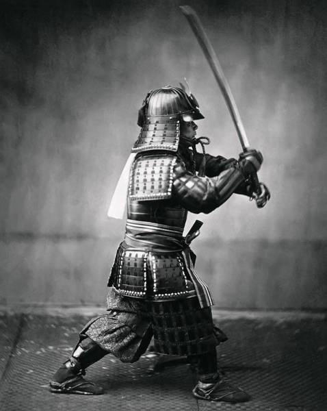Wall Art - Photograph - Real Last Samurai 1860 by Daniel Hagerman