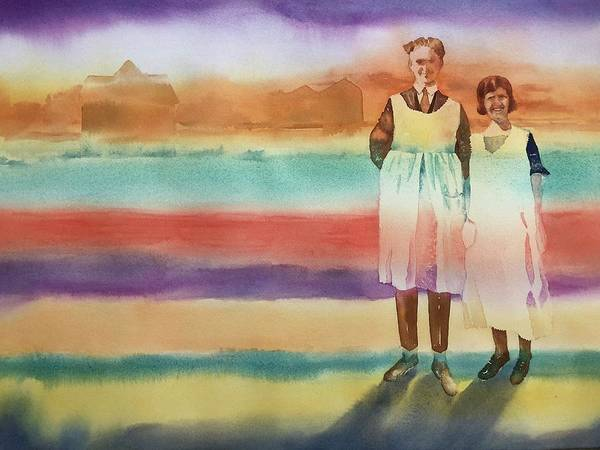 Painting - Real Men Wear Aprons by Tara Moorman