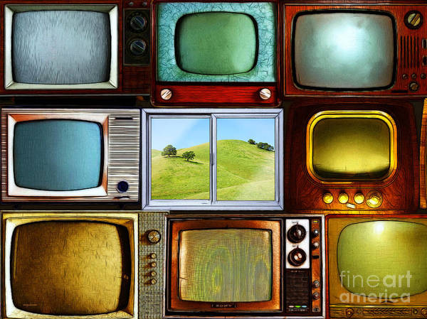 Photograph - Reality Television 20150928 by Wingsdomain Art and Photography