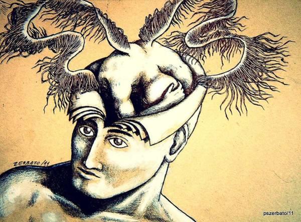 Realization Digital Art - Realization Inner Self Of The Being by Paulo Zerbato