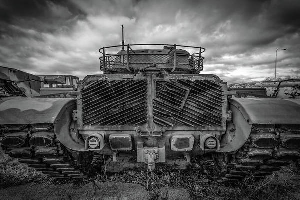 Wall Art - Photograph - Rear Of Tank by Mike Burgquist