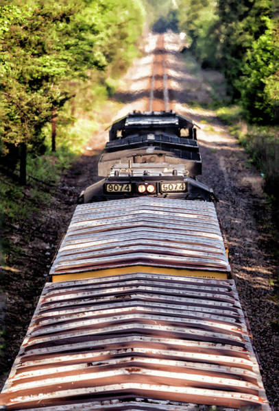 Norfolk Southern Wall Art - Photograph - Rear View Forward by Tim Wilson