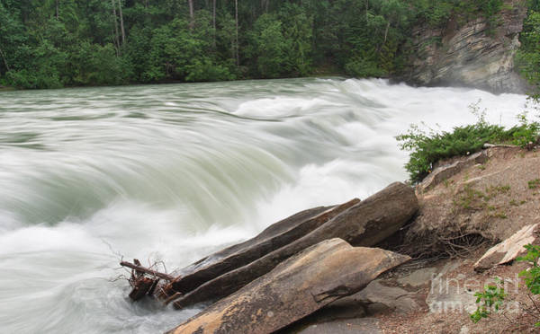 Photograph - Rearguard Falls by Charles Kozierok