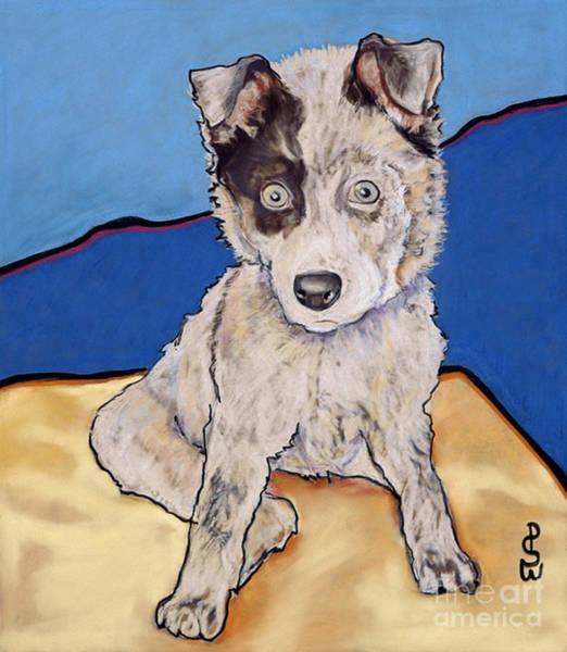 Painting - Reba Rae by Pat Saunders-White