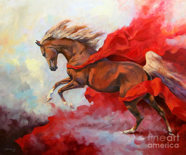Wall Art - Painting - Rebel Red by Jeanne Newton Schoborg
