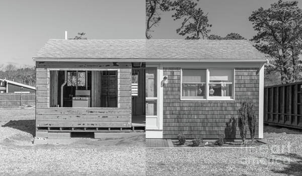 Photograph - Rebirth Cape Cod Cottage by Edward Fielding