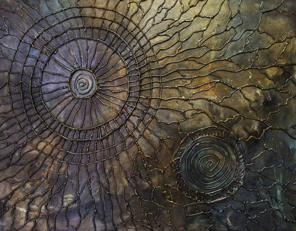 Bronze Painting - Rebirth by Patricia Lintner
