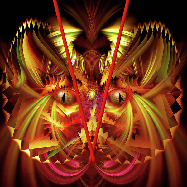 Showpiece Digital Art - Recalling Asia by Andy Young