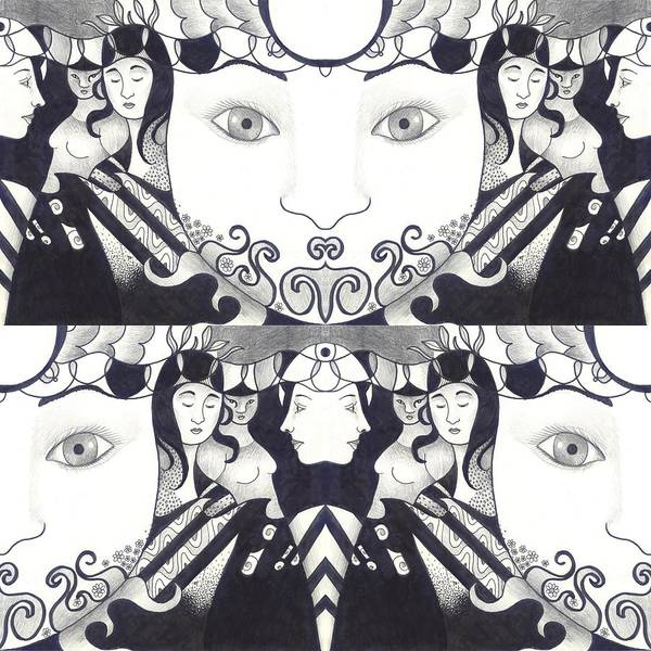 Digital Art - Recalling The Goddess 1 by Helena Tiainen