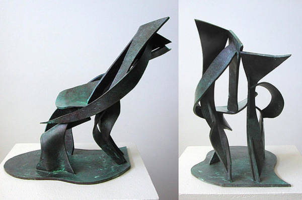 Sculpture - Recliner by John Gibbs