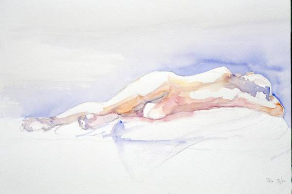 Painting - Reclining Figure  by Barbara Pease