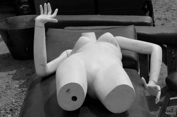 Photograph - Reclining Mannequin I by David Gordon