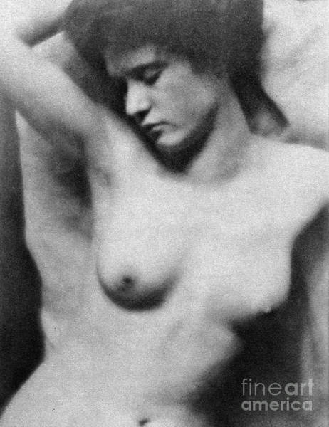 Photograph - Reclining Nude, C1910 by Granger