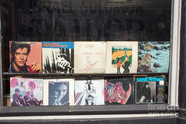 Gene Photograph - Record Store Burlington Vermont by Edward Fielding