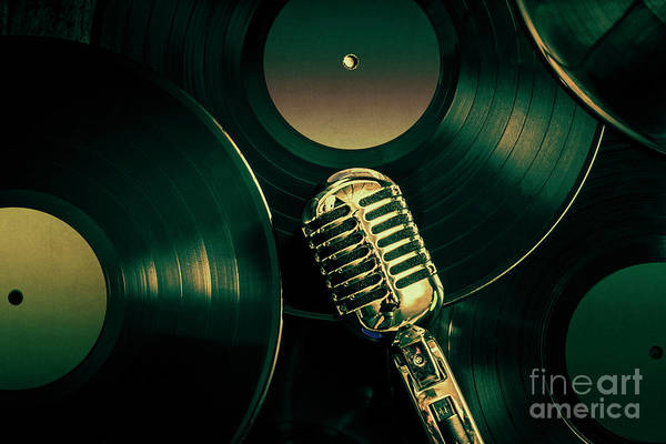 50s Wall Art - Photograph - Recording Studio Art by Jorgo Photography - Wall Art Gallery