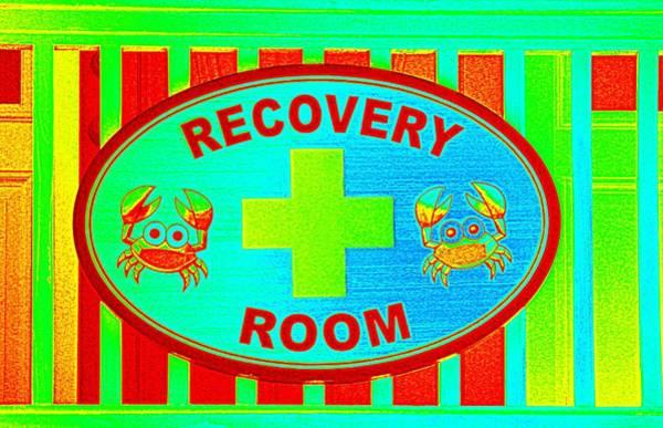 Mixed Media - Recovery Room Art by Cynthia Guinn