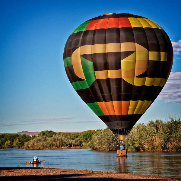 Photograph - Recreating On The Rio Grande, Albuquerque, Nm by Flying Z Photography by Zayne Diamond