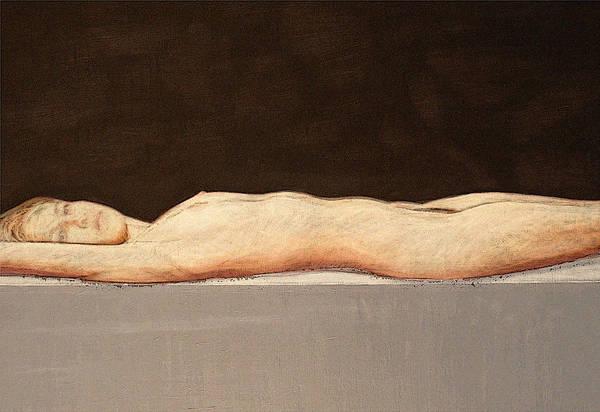 Recumbent Nude Art Print by Philip Smeeton