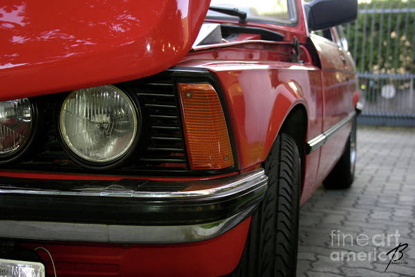 Photograph - Red 323i Bmw by Balanced Art