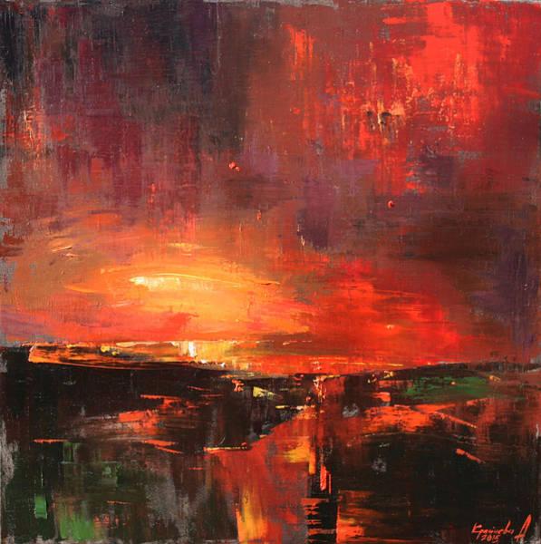 Wall Art - Painting - Red by Anastasija Kraineva