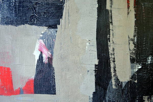 Painting - Red And Black Study 4.0 by Michelle Calkins