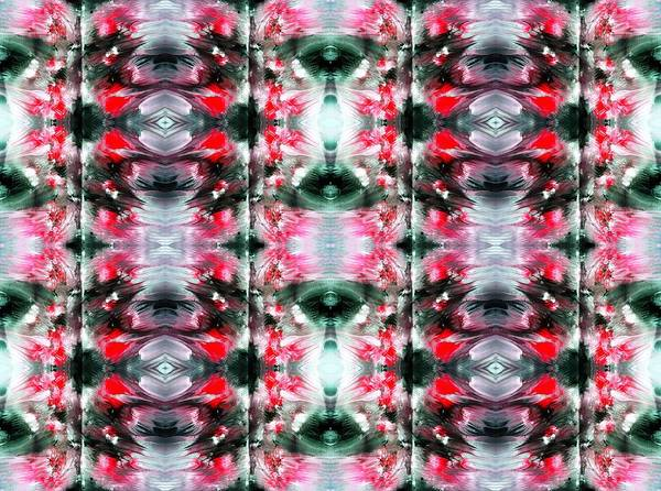 Psychedelia Digital Art - Red And Black by Sumit Mehndiratta