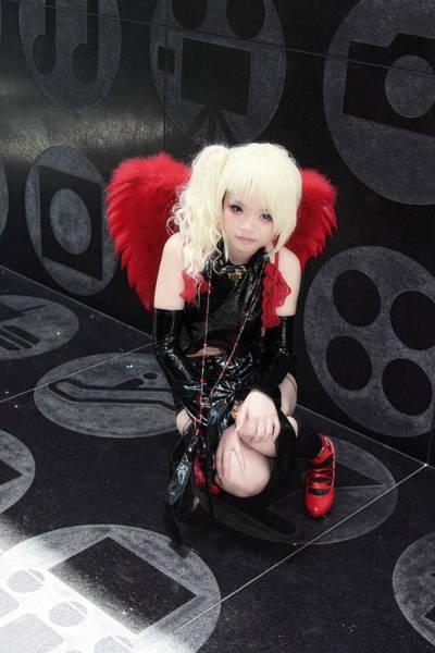 Cosplay Photograph - Red Angel by Viktor Savchenko