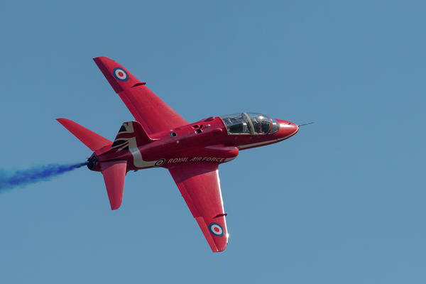 Photograph - Red Arrow Hawk Banking Turn by Gary Eason