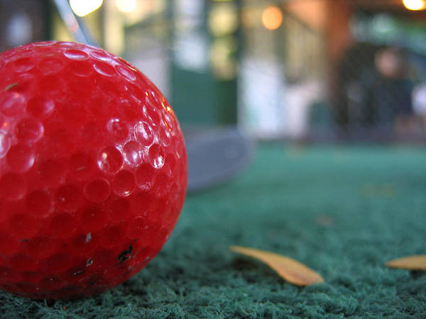 Photograph - Red Ball by Laura Kinker