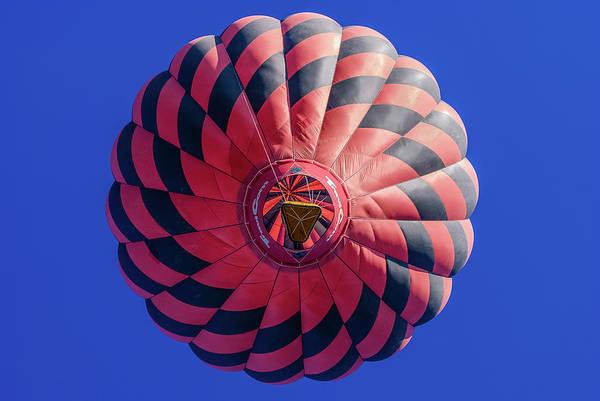 Balloon Festival Photograph - Red Balloon by Joseph Smith