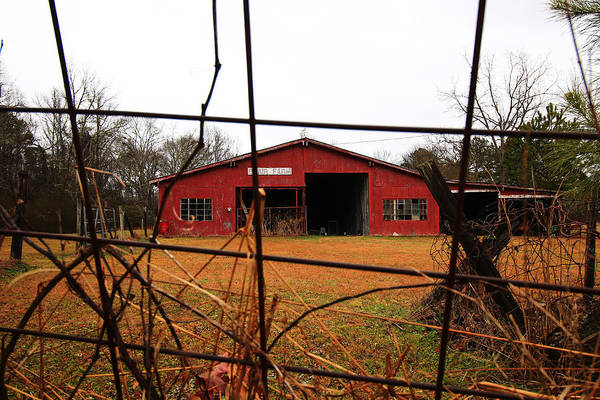 Wall Art - Photograph - Red Barn 2 by Kevin Wheeler