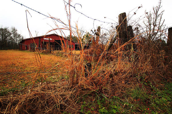 Wall Art - Photograph - Red Barn 3 by Kevin Wheeler