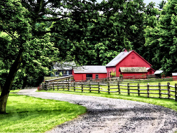 Photograph - Red Barn by Susan Savad