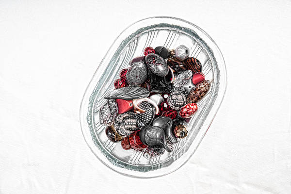 Photograph - Red Baubles by Sharon Popek
