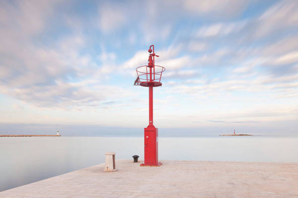 Photograph - Red Beacon by Davor Zerjav
