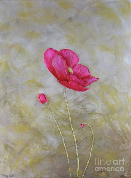 Painting - Red Beauty by Mary Scott