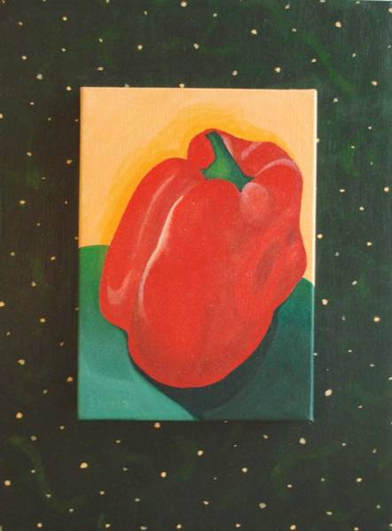 Painting - Red Bell by Helena Tiainen