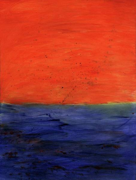 Painting - Red, Blue And You by Angela Bushman