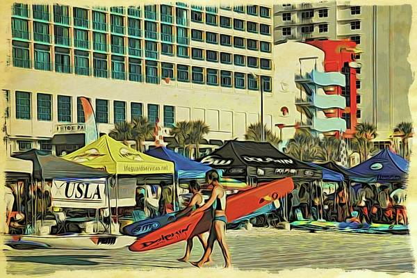 Photograph - Red Board At Usla Nationals by Alice Gipson